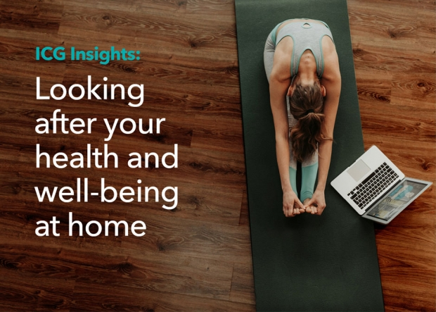 Looking after your health and well-being at home