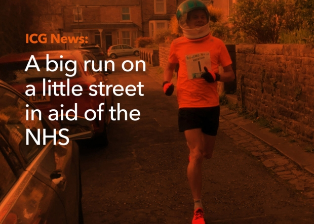 Marathon man goes the extra mile for NHS