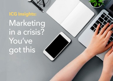 Marketing in a crisis? You've got this