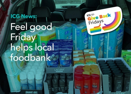 Local foodbank receives bumper delivery