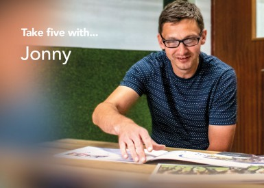 Take five with Jonny