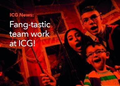 Fang-tastic team work at ICG!