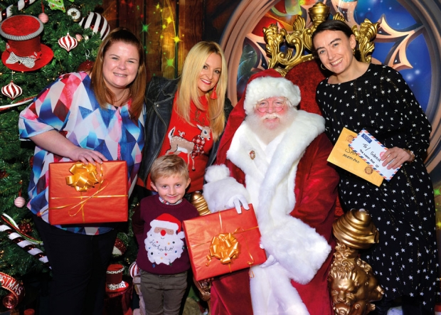 Record-breaking visitor figures for Christmas experience at The Mall Blackburn