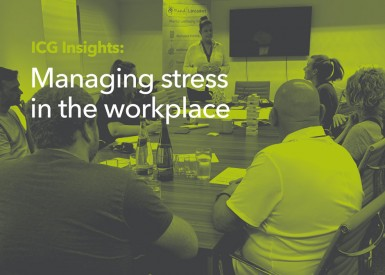 Insight into managing stress in the workplace