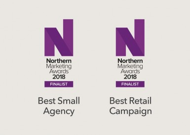 Double shortlist in the Northern Marketing Awards