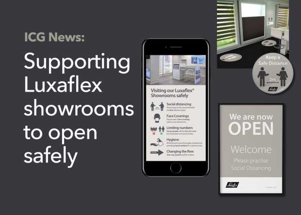 Made to measure campaign for Luxaflex showrooms