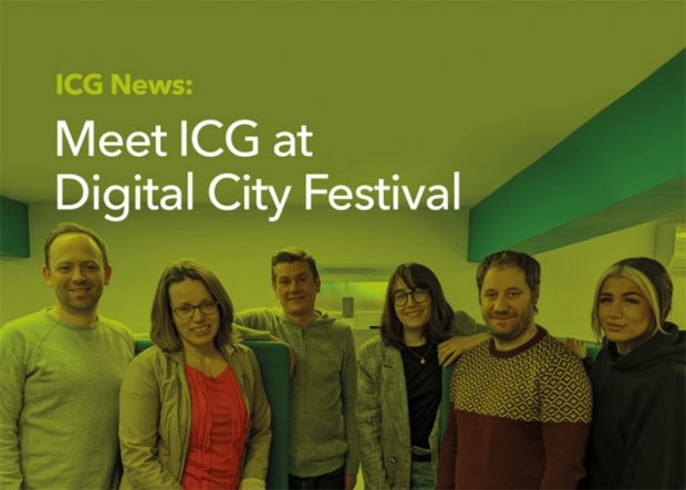Come and see us at the Digital City Festival