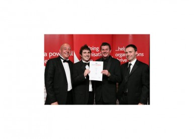 ICG Scores with prestigious award