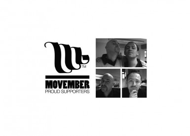 Moustaches in November …it must be Movember!