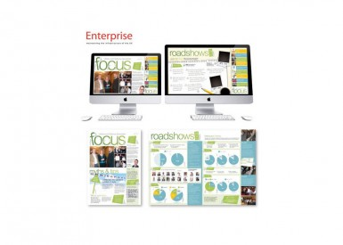 Enterprising ideas for newsletters