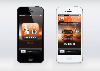 ICG develop Truck Stop Finder app for IVECO UK