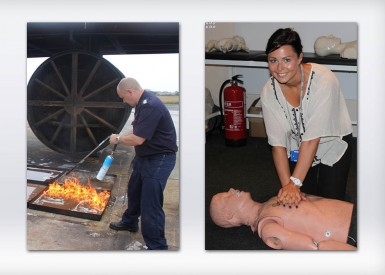 Stayin' Alive with Blackpool Airport's Fire Training Courses