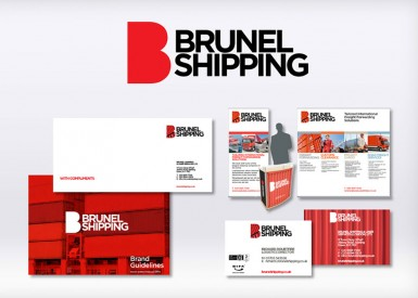 Brunel Shipping sails off a happy customer