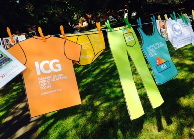 ICG's business cards aren't 'off-the-peg!'