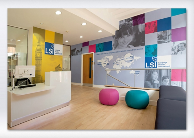 ICG unveils a colourful new look for Language Studies International's London Central School