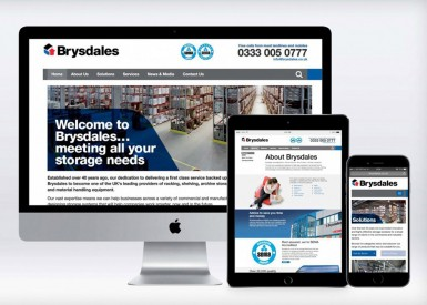 ICG develops new website for storage solutions company