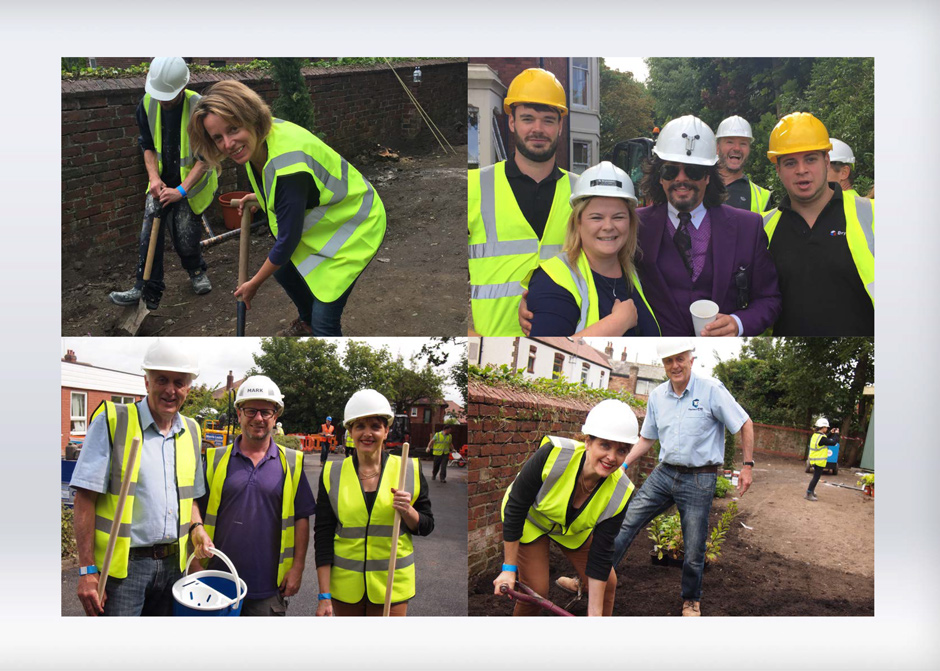Thrilled to support clients for DIY SOS Big Build for Children in Need