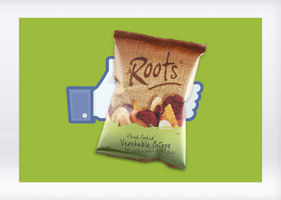 A taste of social media success for Roots Hand Cooked Vegetable Crisps
