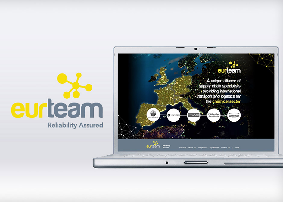 New identity and website for Eurteam